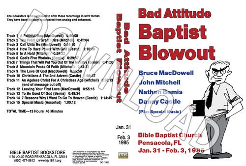 1985 January Blowout Sermons & Music - Downloadable MP3