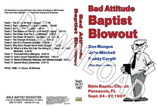 1987 September Blowout Sermons & Music - Downloadable MP3