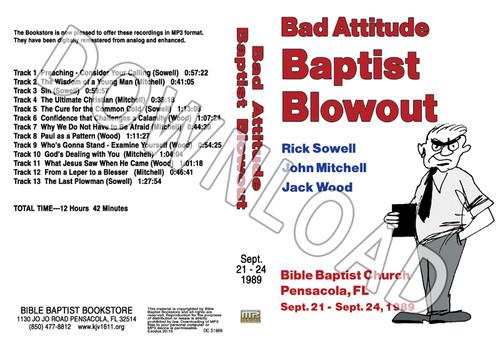 1989 September Blowout Sermons - Downloadable MP3