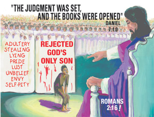 Full Color Scripture Sign - Burden and Judgment