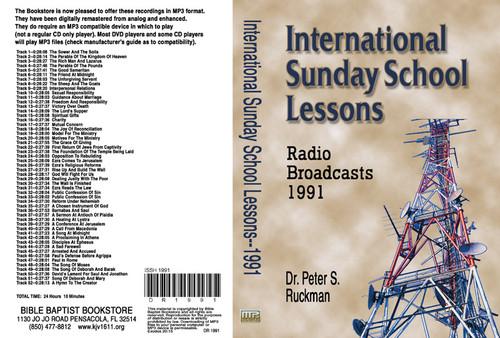International Sunday School Lessons 1991 - MP3