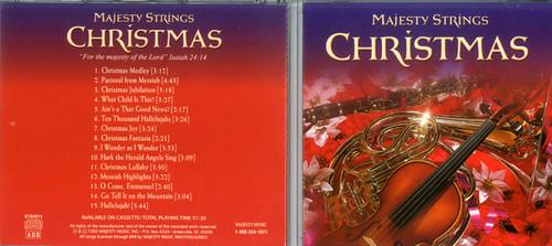 Majesty Strings - Christmas CD