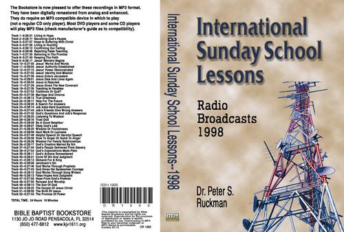 International Sunday School Lessons 1998 - MP3