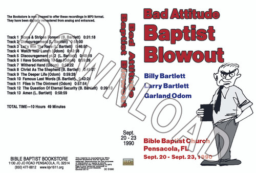 1990 September Blowout Sermons - Downloadable MP3