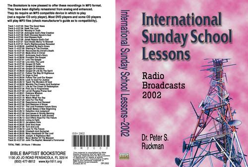 International Sunday School Lessons 2002 - MP3