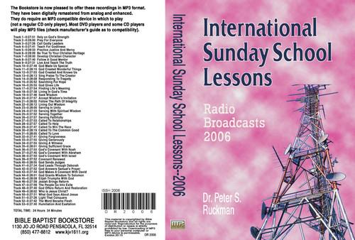International Sunday School Lessons 2006 - MP3