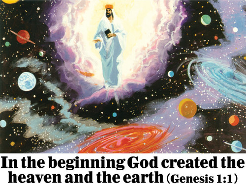 In the Beginning - Banner