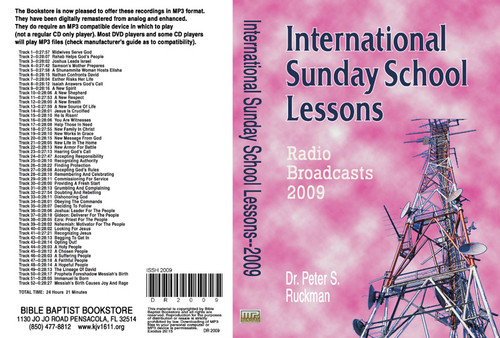 International Sunday School Lessons 2009 - MP3