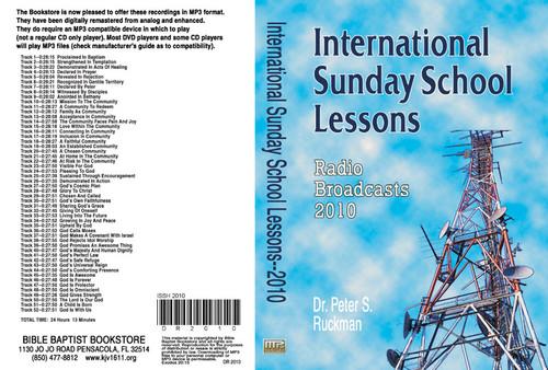 International Sunday School Lessons 2010 - MP3