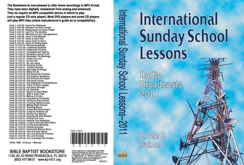 International Sunday School Lessons 2011 - MP3