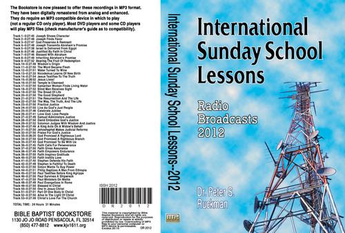 International Sunday School Lessons 2012 - MP3