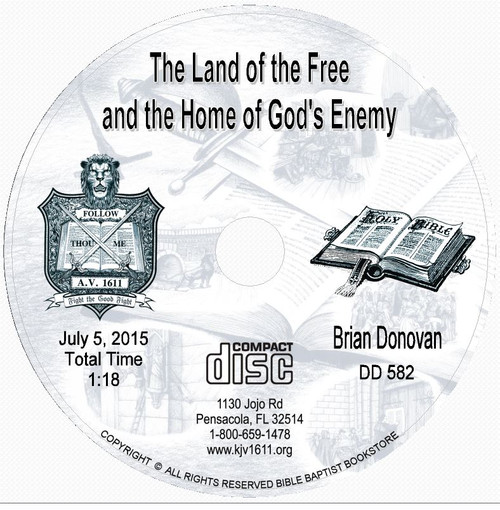 Brian Donovan: The Land of the Free and the Home of God's Enemy CD