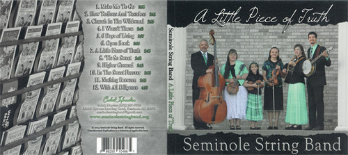 A Little Piece of Faith - Seminole String Band CD