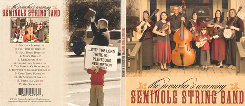 The Preacher's Warning - Seminole String Band CD