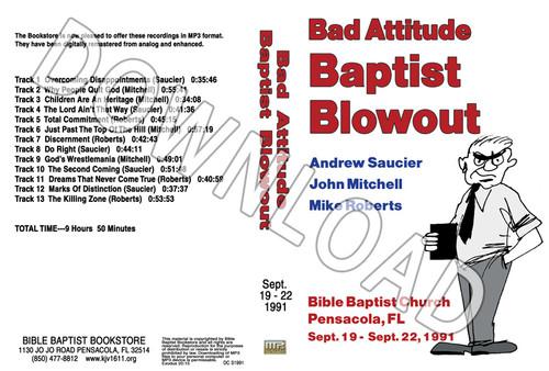 1991 September Blowout Sermons - Downloadable MP3