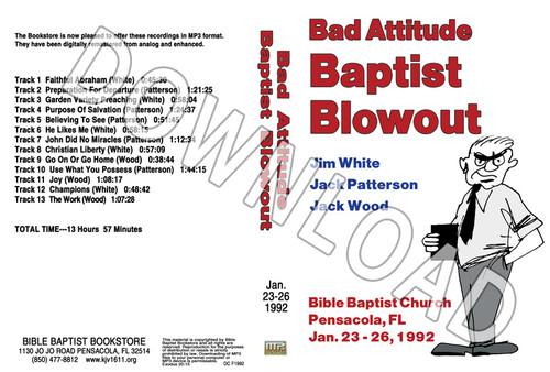 1992 January Blowout Sermons - Downloadable MP3