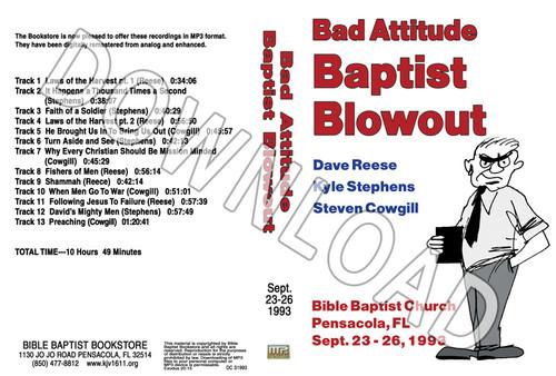 1993 September Blowout Sermons - Downloadable MP3