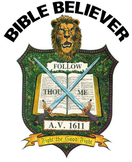 Bible Believer - Ladies T-Shirt