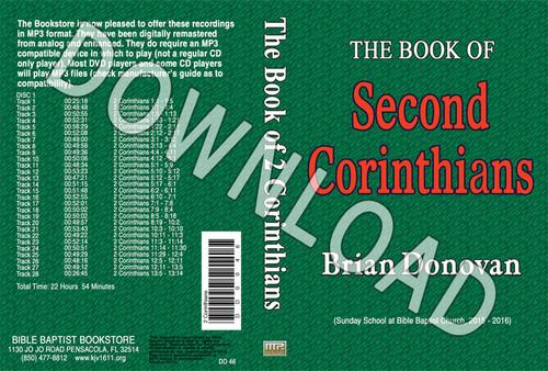Brian Donovan: 2 Corinthians - Downloadable MP3