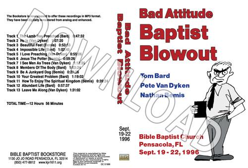 1996 September Blowout Sermons - Downloadable MP3
