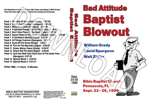 1999 September Blowout Sermons - Downloadable MP3