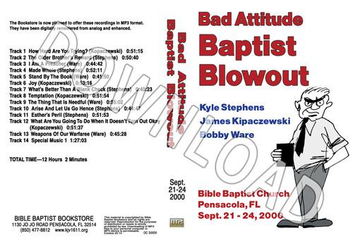 2000 September Blowout Sermons - Downloadable MP3