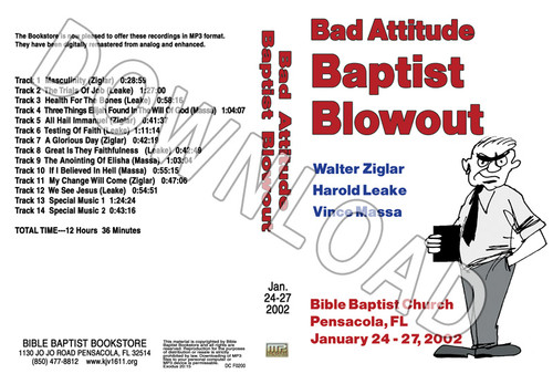 2002 January Blowout Sermons - Downloadable MP3