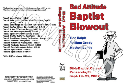 2002 September Blowout Sermons - Downloadable MP3