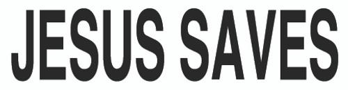 Jesus Saves Text - Sticker