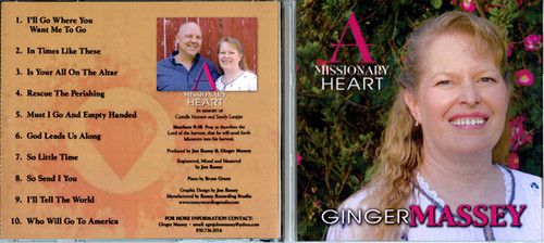 A Missionary Heart - Ginger Massey CD