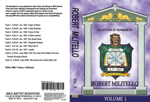 Robert Militello Sermons on MP3 - Volume 1