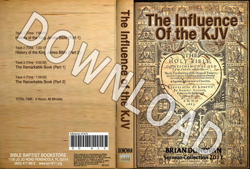 Brian Donovan: The Influence of the KJV - Downloadable MP3