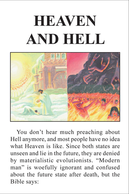Heaven and Hell - Tract