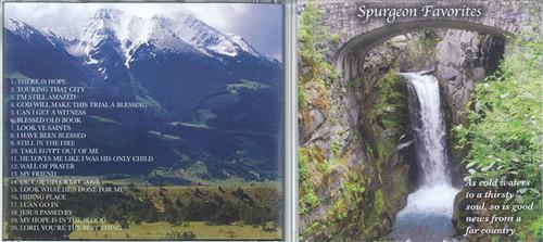 Spurgeon Favorites - Spurgeon CD