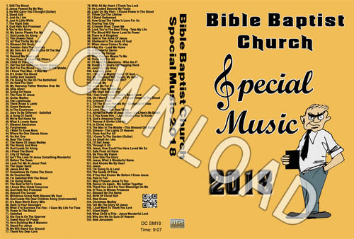 2018 Bible Baptist Church Special Music - Downloadable MP3