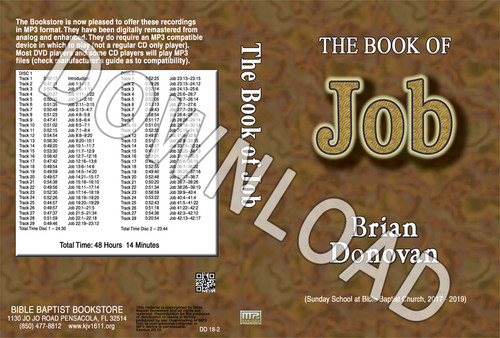 Brian Donovan: Job - Downloadable MP3