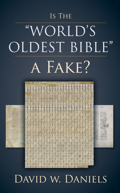 Is The World's Oldest Bible A Fake?