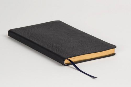 Allan: Journal Black Highland Goatskin - Black