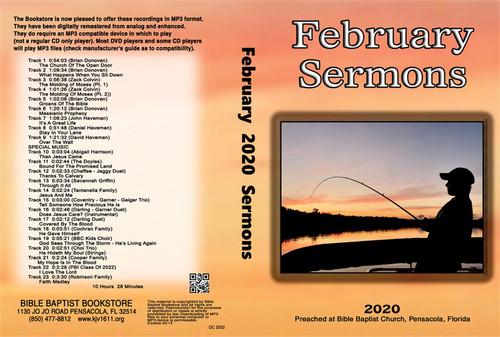 February  2020 Sermons - MP3