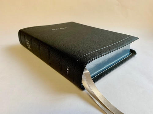 Allan Oxford Bible: Brevier Clarendon Wide Margin Reference Bible SILVER LINE EDITION #5WM BLK S