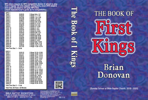 Brian Donovan: 1 Kings - MP3