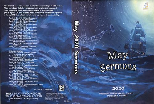 May  2020 Sermons - MP3