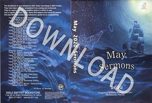 May  2020 Sermons - Downloadable MP3