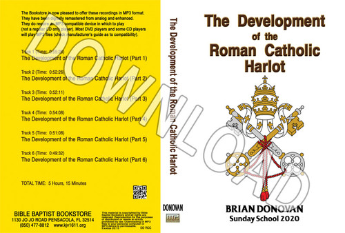 Brian Donovan: The Development of the Roman Catholic Harlot - Downloadable MP3