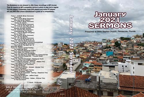 January  2021 Sermons - MP3