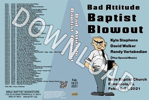 February 2021 Blowout MP3 Sermons & Music - Downloadable MP3