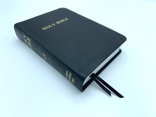 Bible Baptist Bookstore: Soft-Skin Leather Ruckman Reference Bible