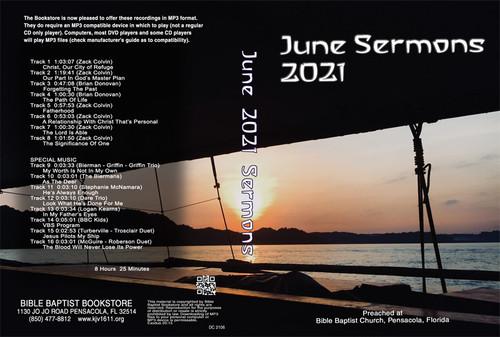 June 2021 Sermons - MP3