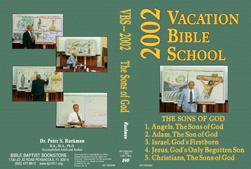 The Sons of God - 2002 VBS - DVD