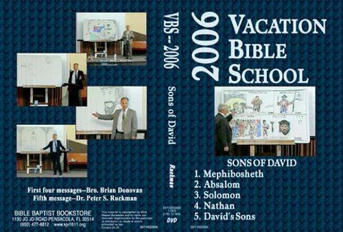 Sons of David - 2006 VBS - DVD
